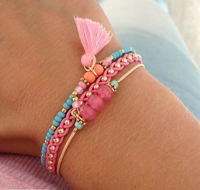 Armbänder-mit-Perlen-selber-machen-so-süß