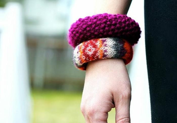 Armbänder-selber-machen-mit-einer-Blume