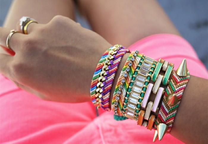 Armbänder selber machen u nicht schwierig sondern wohltuend