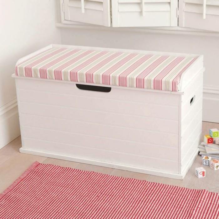Aufbewahrungsbox-Kinderzimmer-in-rosa-Farbe