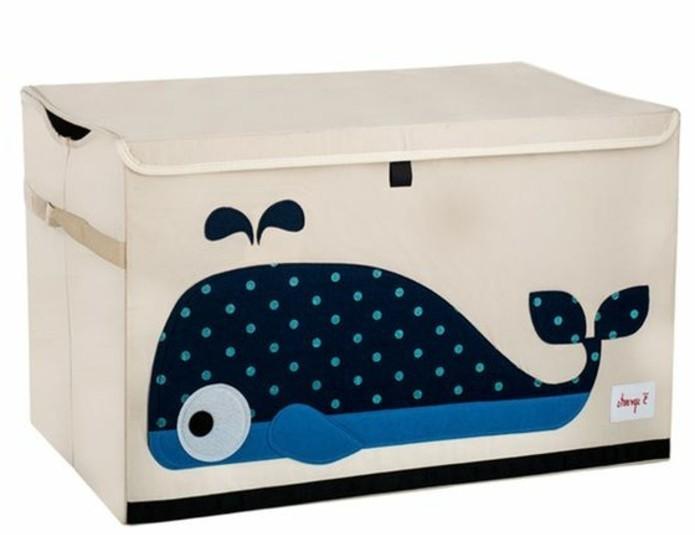 Aufbewahrungsbox-Kinderzimmer-mit-einem-süßen-Wal