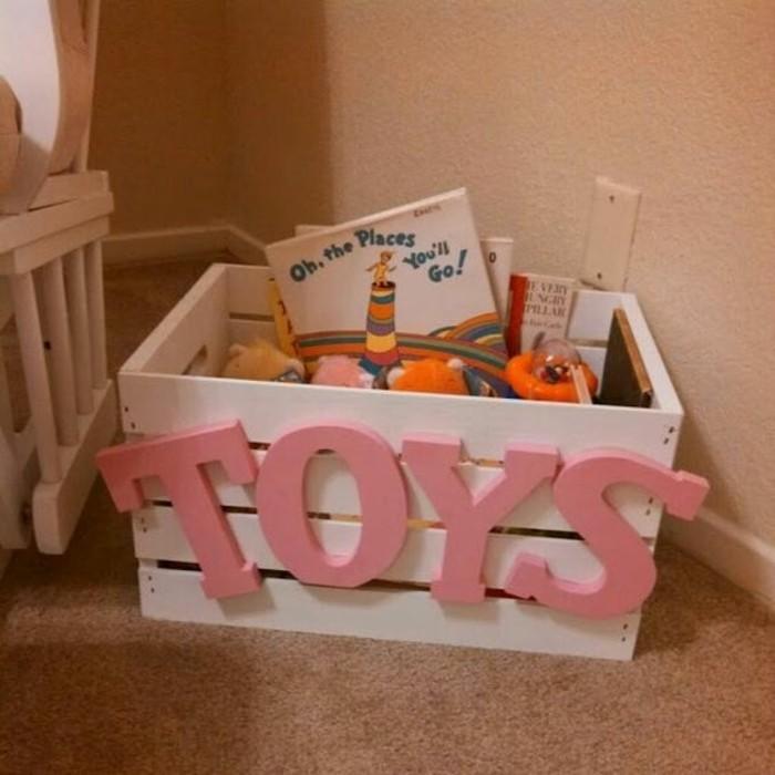 Aufbewahrungsbox-Kinderzimmer-mit-einer-Aufschrift-Spielzeuge