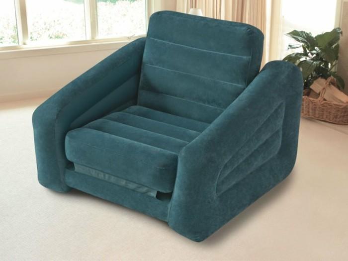 Aufblasbares-Bett-und-Gästebett-Sessel