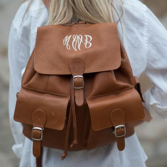Damen-vintage-Rucksack-sehr-elegant