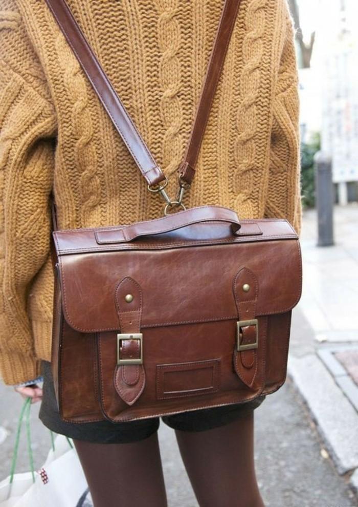Damen-vintage-Rucksack-wie-eine-Handtasche