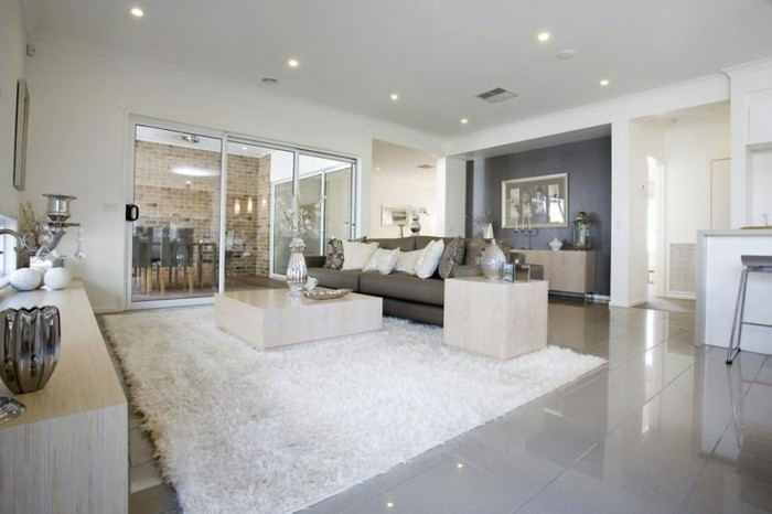 luxus wohnzimmer fliesen fliesen im wohnzimmer elegante - Luxus Wohnzimmer Fliesen