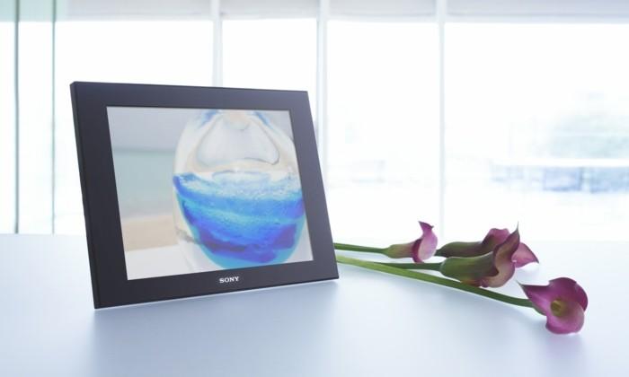 Fotorahmen-Digital-und-Blumen