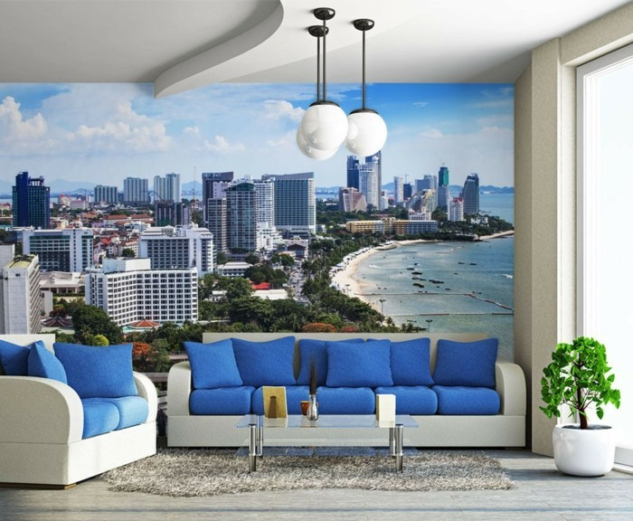 40 einmalige fototapete strand immer ist es sommer for Decoration murale geante