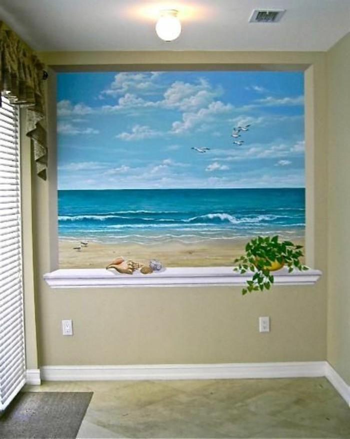 40 einmalige fototapete strand immer ist es sommer. Black Bedroom Furniture Sets. Home Design Ideas