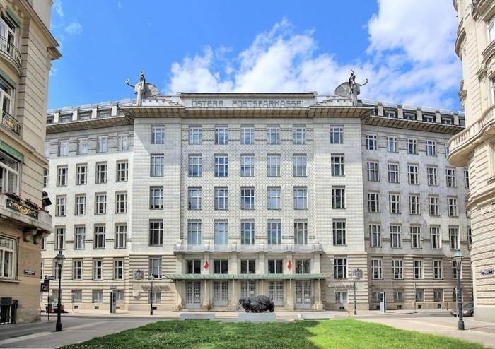 Funktionalismus-Architektur-ein-Gebäude-in-Österreich