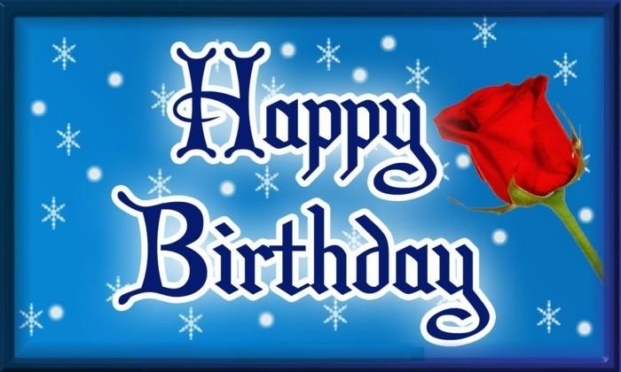 Glückwunschkarten-zum-Geburtstag-mit-einer-Rose