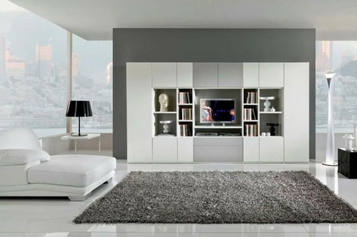 fliesen im wohnzimmer elegante bodenbel ge. Black Bedroom Furniture Sets. Home Design Ideas