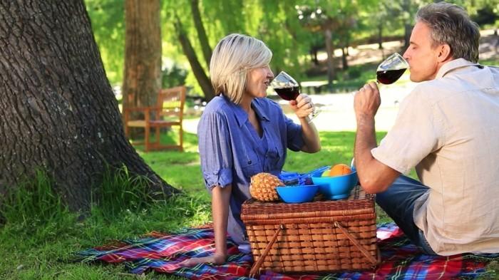 Romantisches-Picknick-mit-einer-Ananas