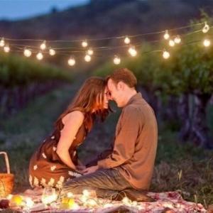 Romantisches Picknick - eine wunderbare Überraschung