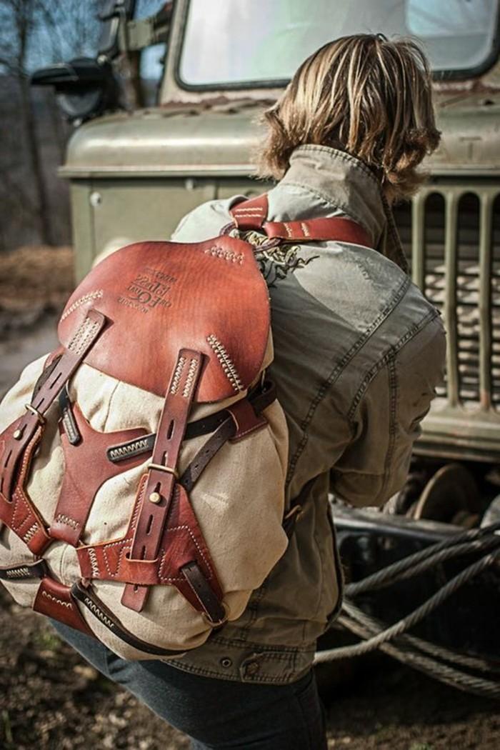 Rucksack-für-Frauen-mit-runder-Form