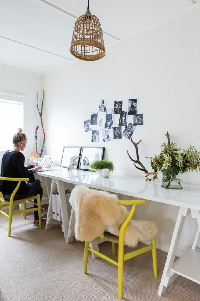 Schreibtisch-büro-design-ideen