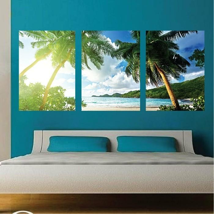 Strand-Tapete-wie-auf-exotische-Insel