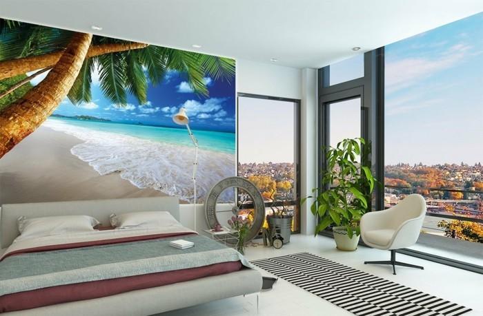 Tapete-Meer-passend-zu-dem-Schlaffzimmer