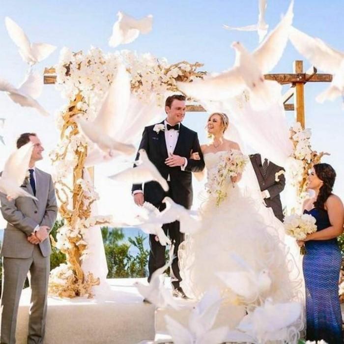Tauben-für-Hochzeit-die-überall-fliegen