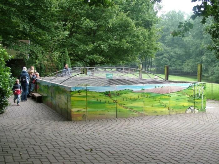 Tierpark-Hamburg-das-Häuschen-von-Schlange