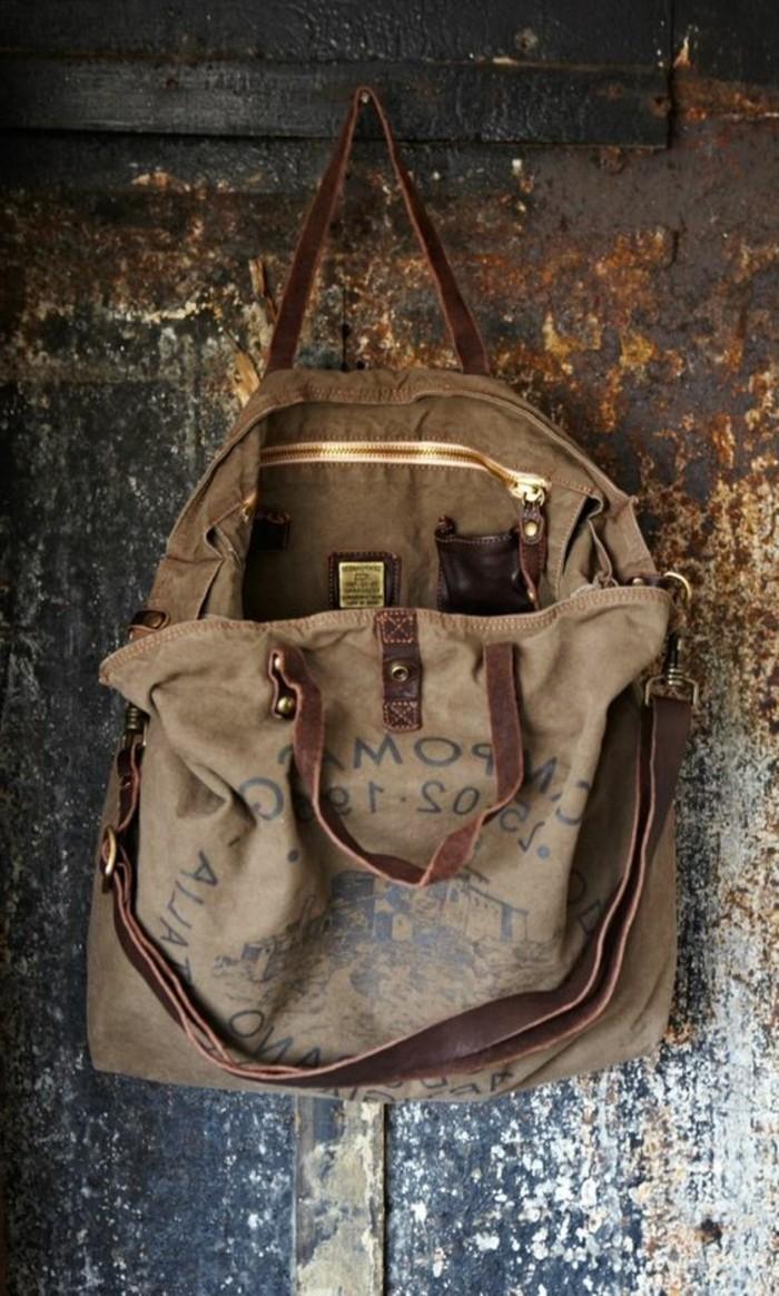 Vintage-Rucksack-mit-künstlich-veraltetes-Bild