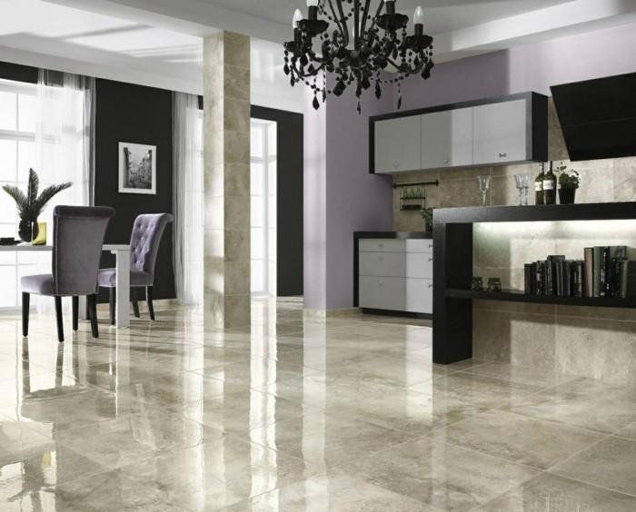 Luxus wohnzimmer fliesen : Fliesen im Wohnzimmer – elegante ...