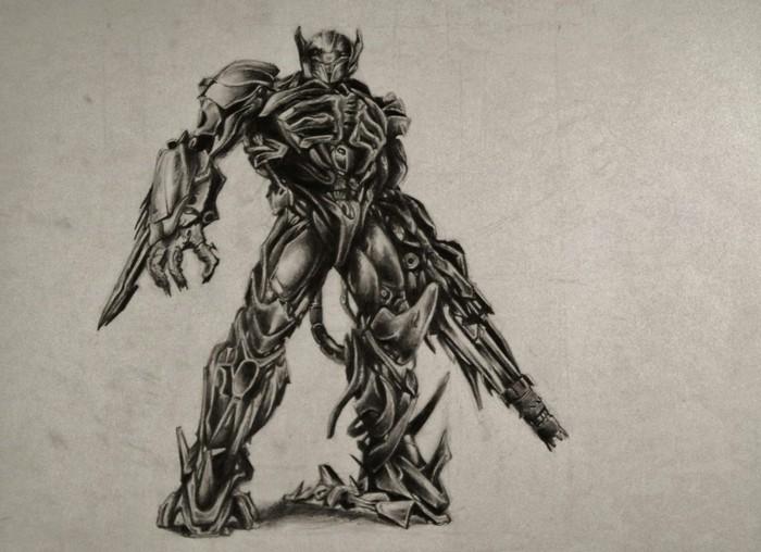 Zeichnen-lernen-mit-Bleistift-ein-Monster