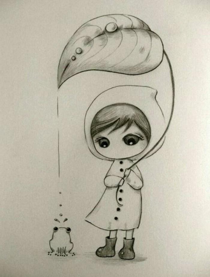 Zeichnen-lernen-mit-Bleistift-mit-Däumelinchen