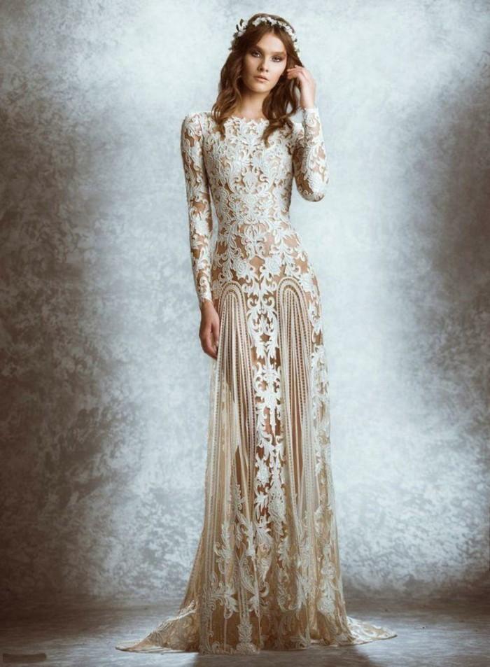 100 Einzigartige Modelle Champagne Brautkleider Archzine Net