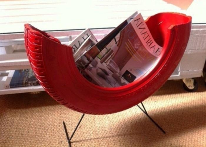 eleganter-stuhl-in-rot-altreifen-recycling-moderne-gestaltung