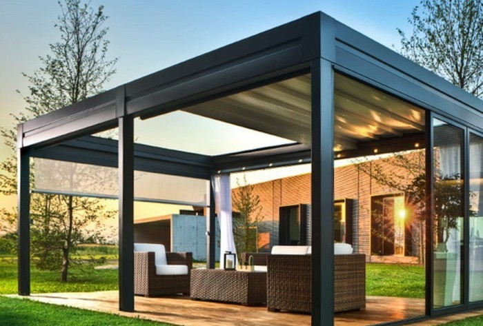 warum ist die pergola aus metall so toll. Black Bedroom Furniture Sets. Home Design Ideas