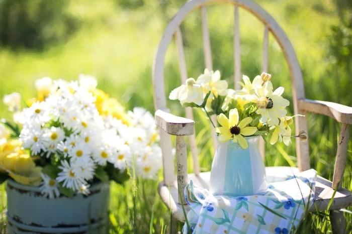 Blumen Landhausstil garten im landhausstil romantische idylle im grünen archzine