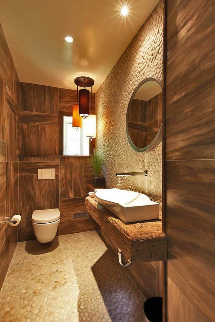 ausgefallene designideen für ein landhaus badezimmer - archzine, Deko ideen
