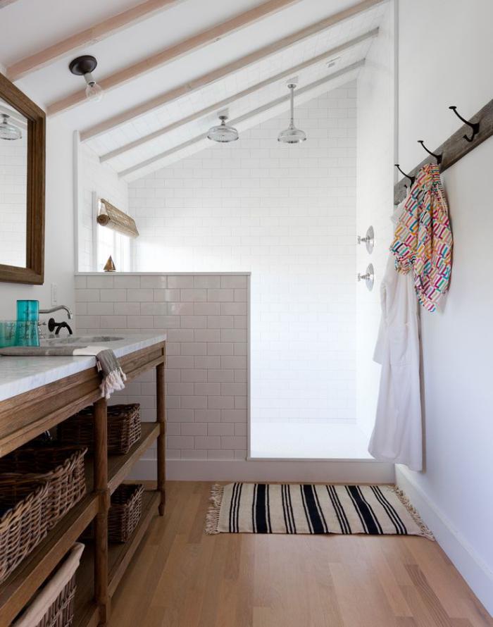 farbgestaltung wohnzimmer dunkle möbel:Holz badezimmer spiegelschrank ...