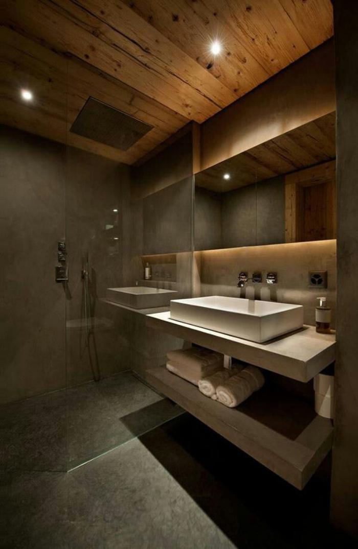 Ausgefallene Designideen F R Ein Landhaus Badezimmer