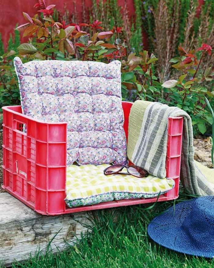 lustige gartendeko selber machen einmaliges modell sessel im - Gartengestaltung Selber Machen Bilder