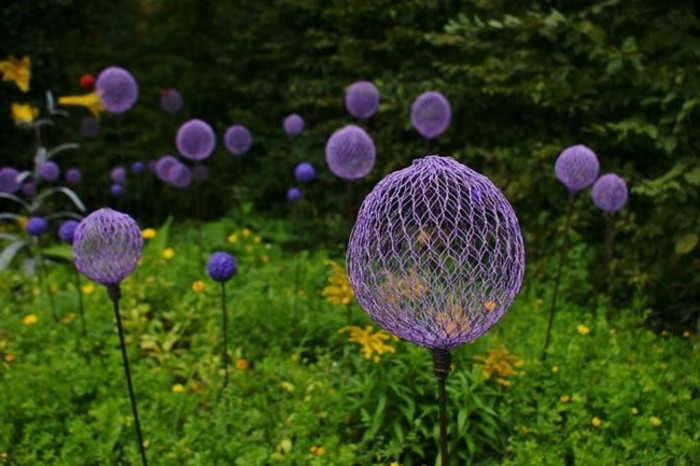 Gartendeko selber machen 50 lustige ideen for Kunst im garten selber machen