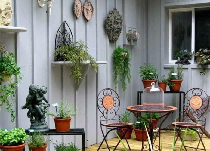 Gartendeko selber bauen  Gartendeko selber machen? 50 lustige Ideen! - Archzine.net
