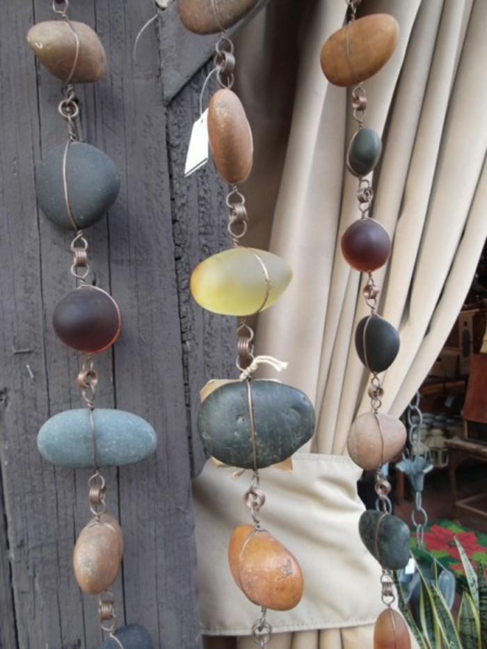 lustige-gartendeko-selber-machen-sehr-schöne-hängende-steine