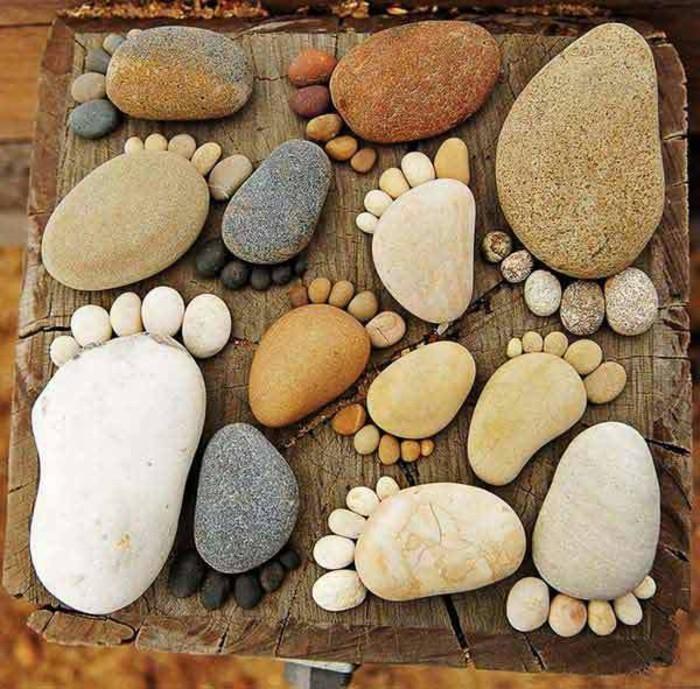 lustige-gartendeko-selber-machen-tolle-steine-in-der-form-von-füßen