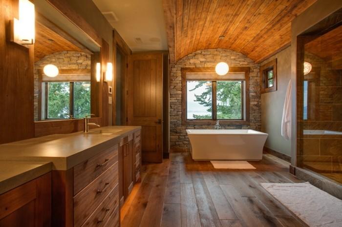 rustikal-landhaus-badezimmer-mit-holz-möbeln