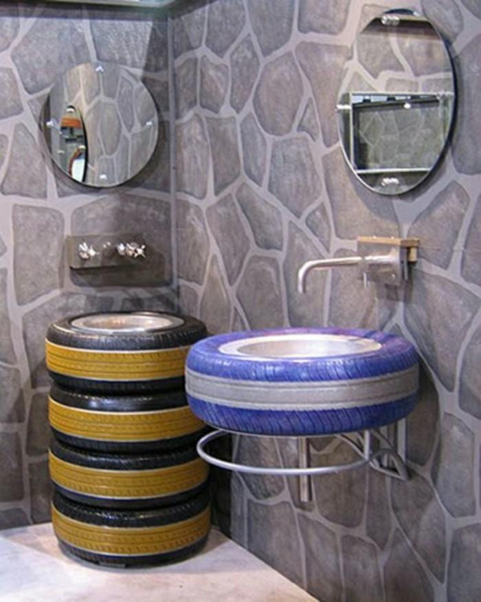 recycling mobel schane waschbecken im badezimmer altreifen mabel aus mobile alabama
