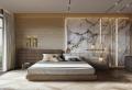 90 moderne Ideen für Schlafzimmer Wandgestaltung
