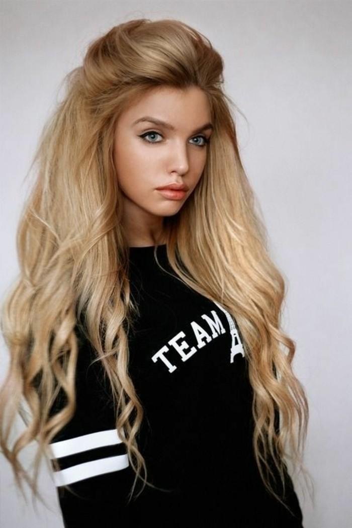 Alltagsfrisuren-für-lange-Haare-wie-eine-Puppe