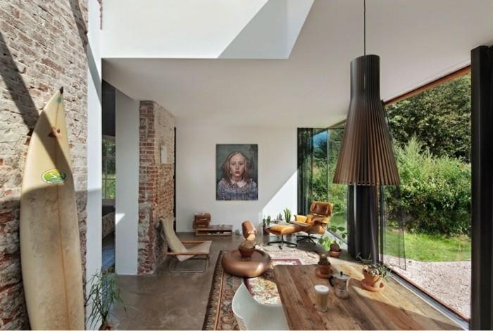 wandgestaltung wohnzimmer altbau wandfarben ideen f r