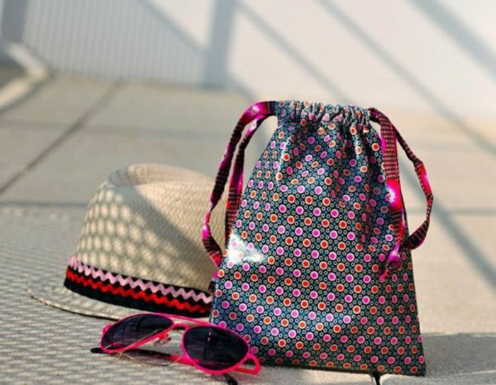 Ausgefallene-Handtaschen-beutel-hut-sommer-brillen