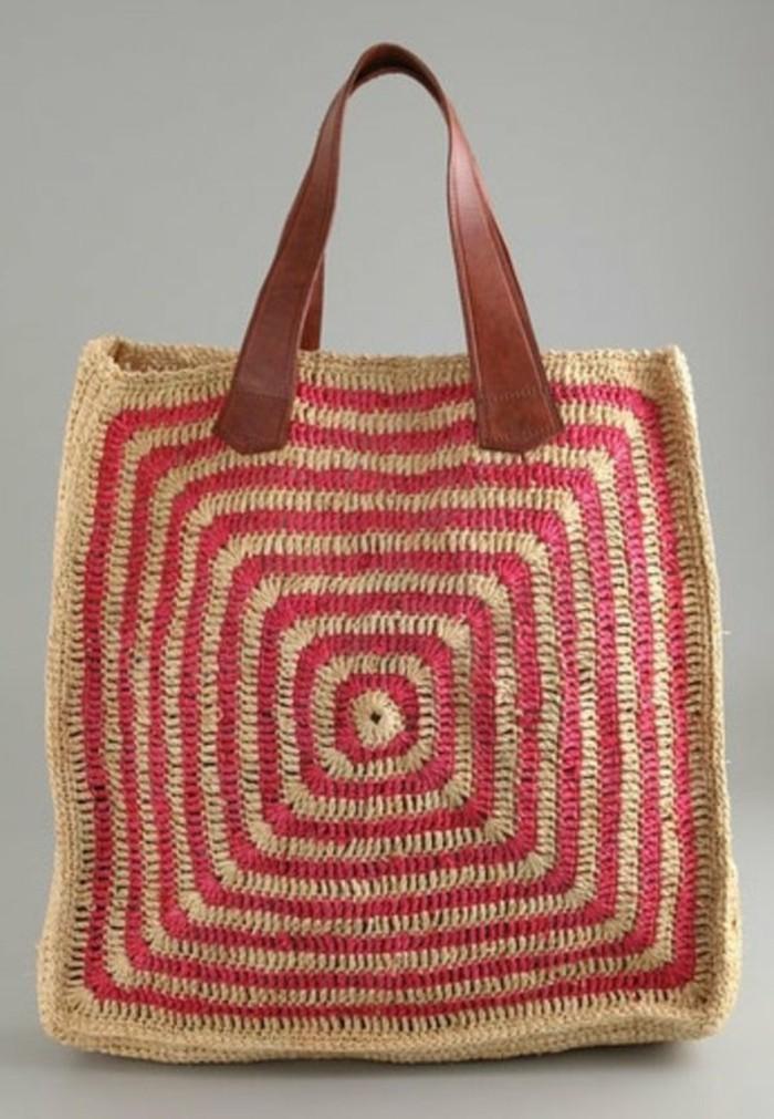 Ausgefallene-Handtaschen-shopper-mit-kunstleder-henkeln