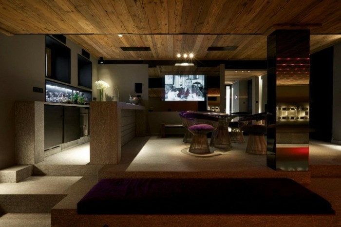 deckenverkleidung aus holz nat rliches gef hl zu hause. Black Bedroom Furniture Sets. Home Design Ideas