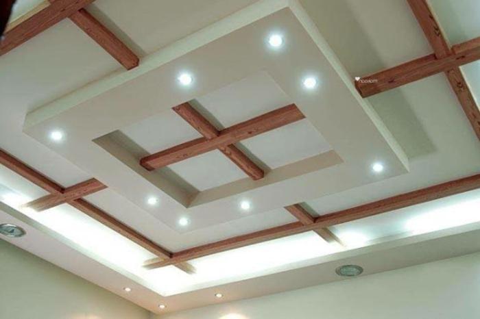 Design of pop ceiling pop design in ceiling photo for Wohnzimmerlampen led modern