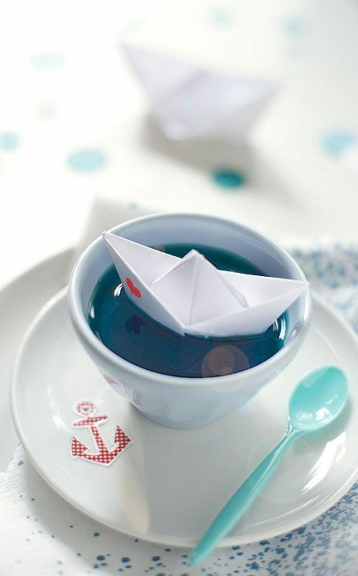 40 maritime tischdeko ideen: viele davon diy! - archzine, Wohnzimmer dekoo